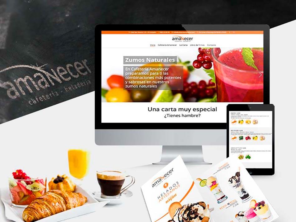 proyecto cafeteriía Amanecer