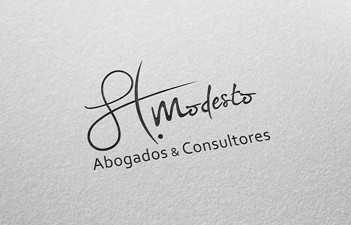 logotipo H.Modesto