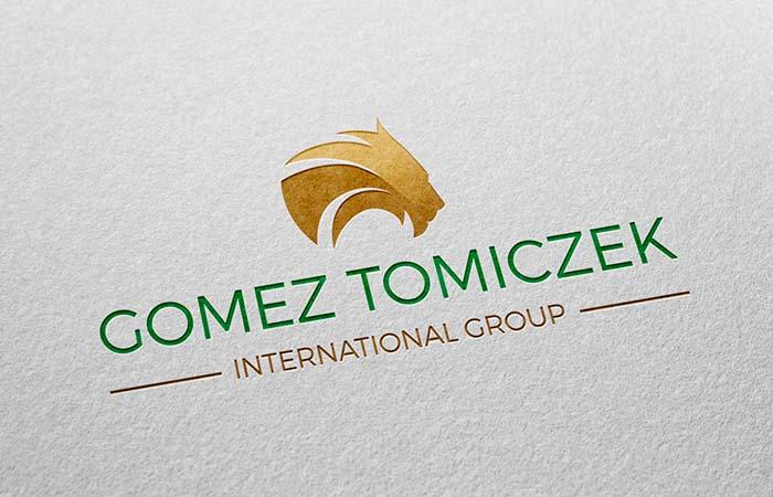 diseño de logotipo Gomez Tomiczek