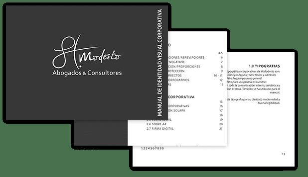 manual de uso logotipo