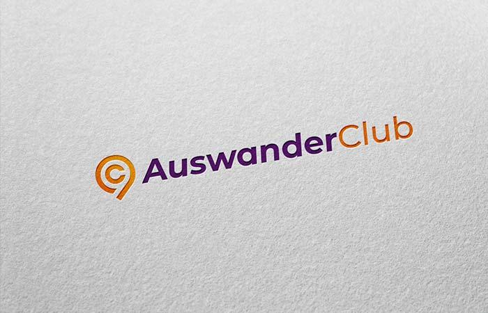 logotipo auswanderclub