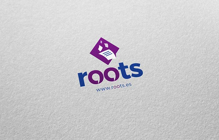 logotipo Roots