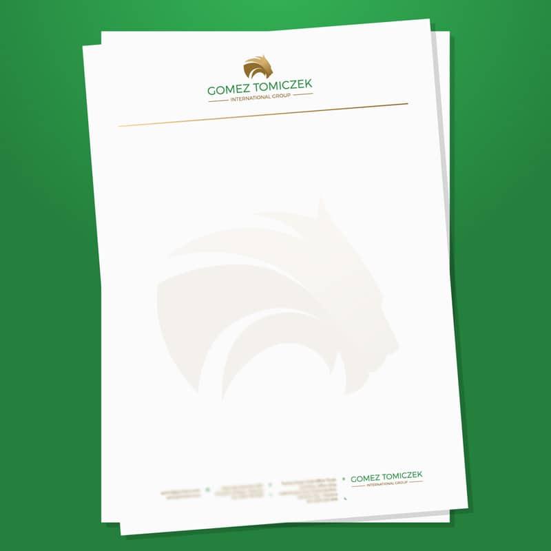 Diseño de Folios Gomez Tomiczek