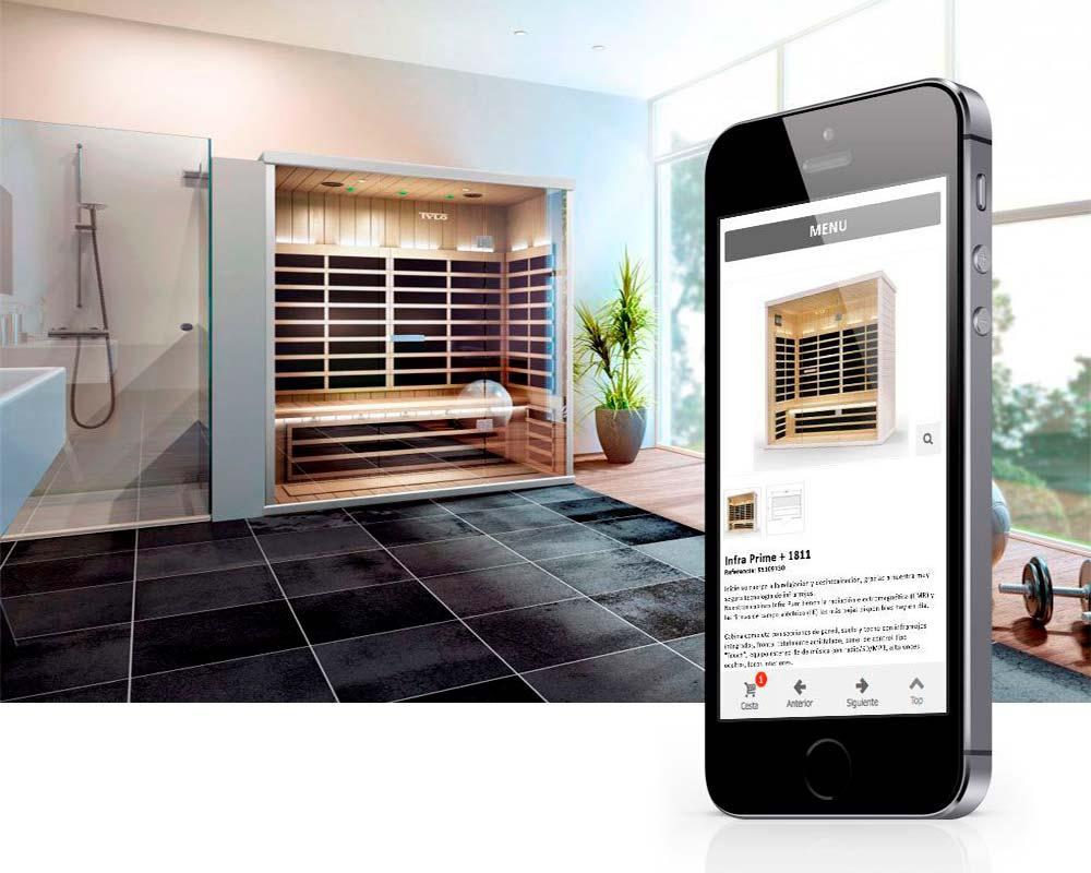 Desarrollo de Tienda Online para Tylö España - Venta de Saunas