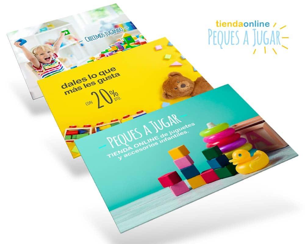 diseños tienda online infantil