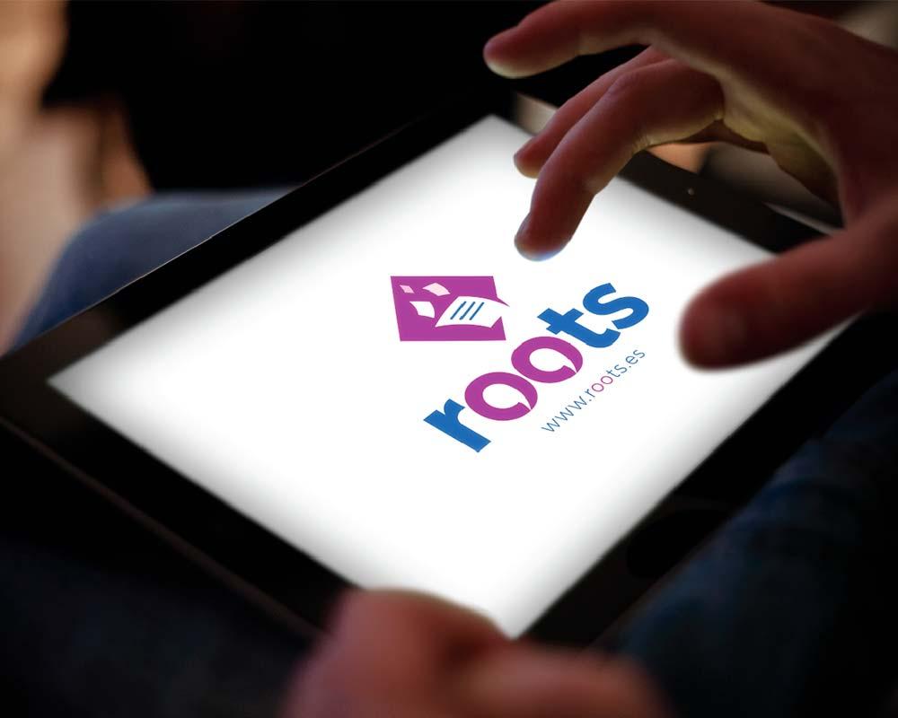 presentación roots en tablet