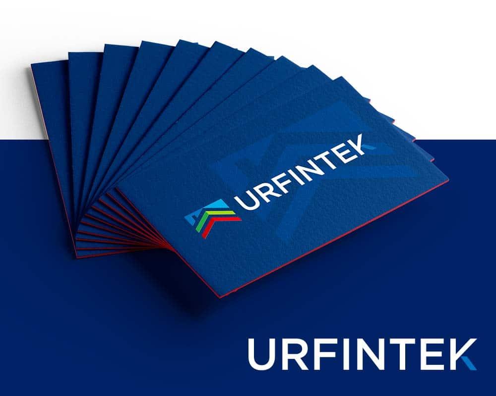 diseño de tarjetas de visita Urfintek