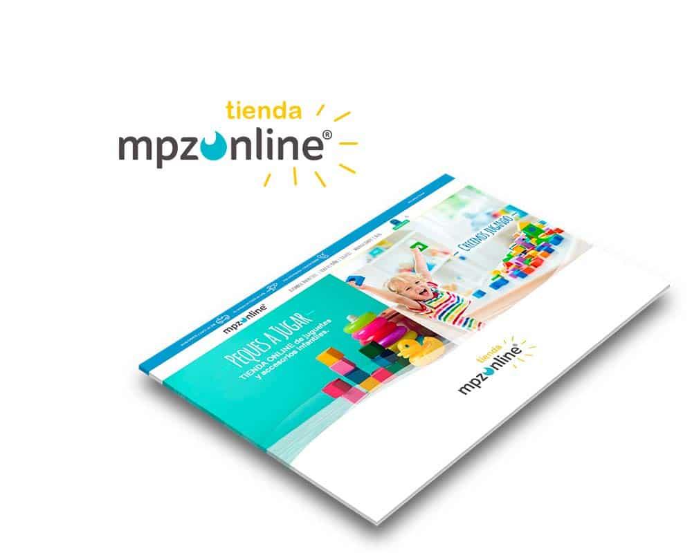 Diseño Tienda Online de Juguetes y Accesorios Infantiles