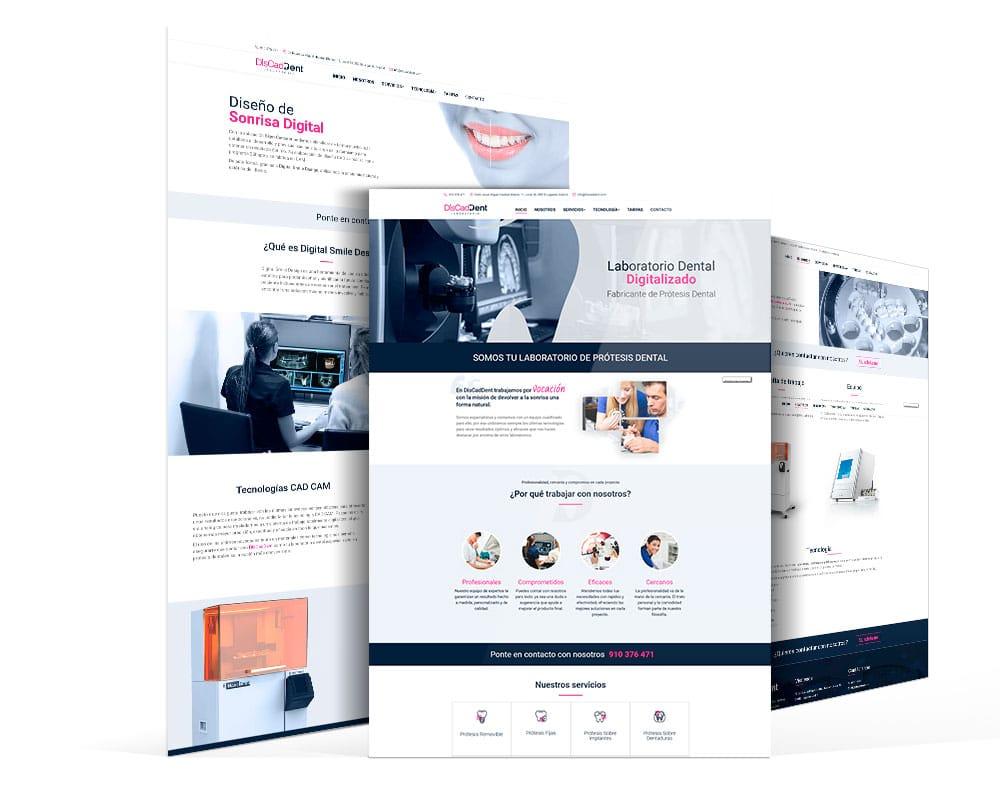 web de fabricante prótesis dental